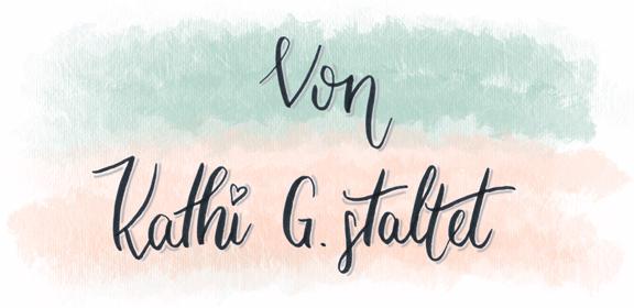 Von Kathi G.staltet Logo